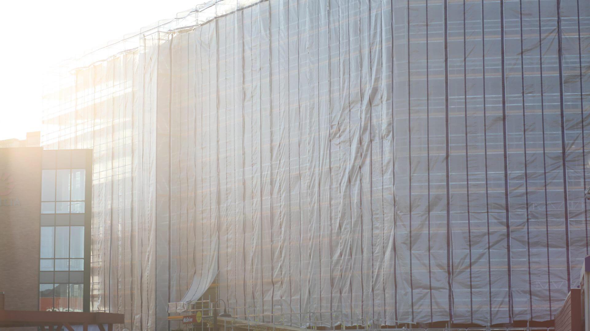 obwiik presenning teknisk tekstil stillasinndekking